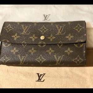 Authentic Monogramed Long Wallet